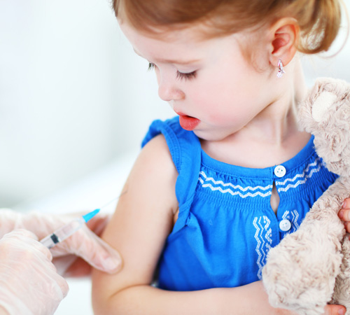 Vaccination for babies & children